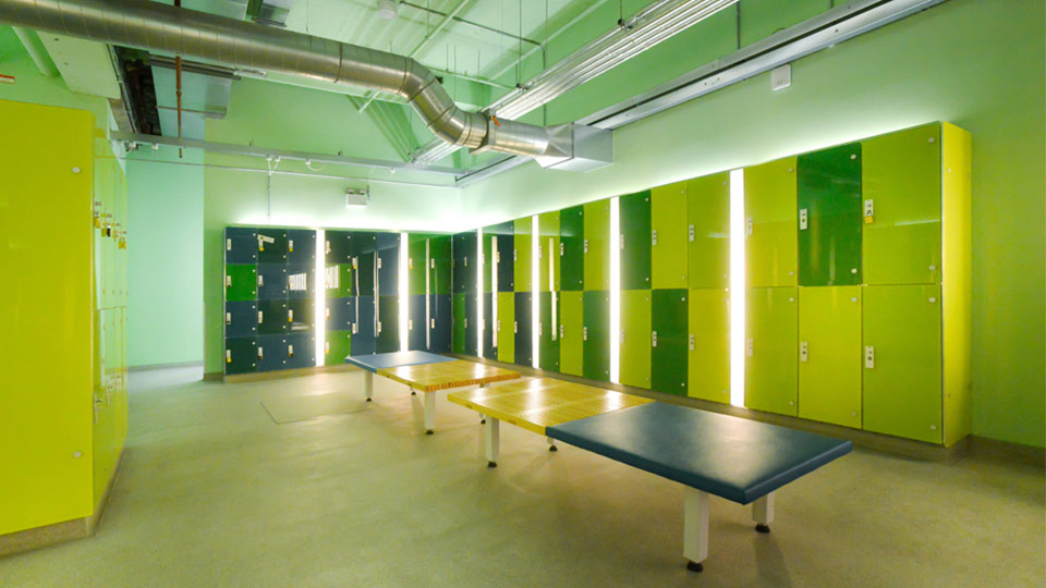 Marathon Glass Dry Lockers