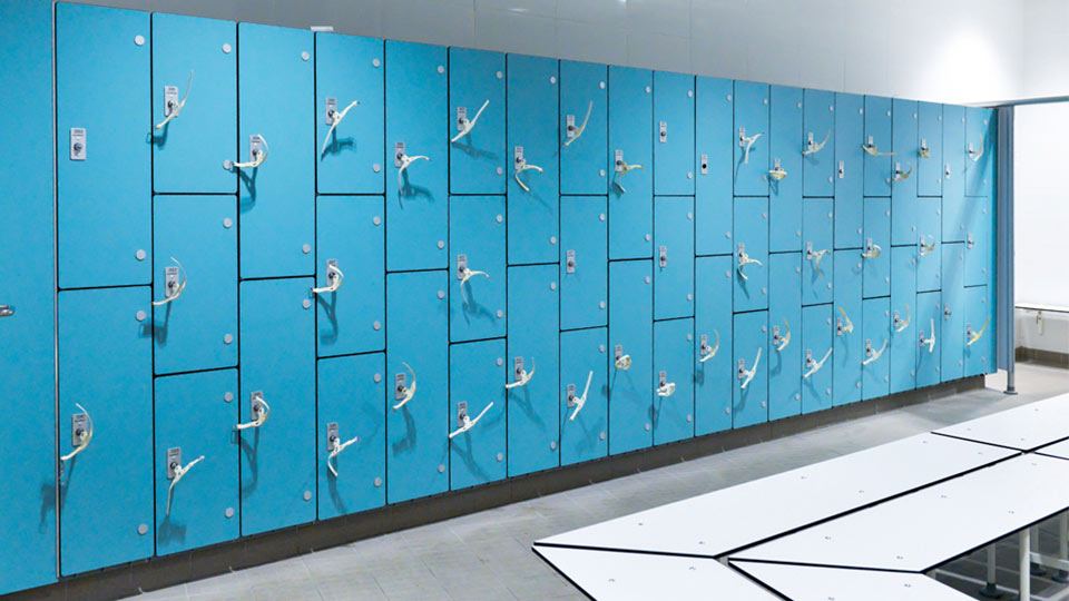 Marathon Laminate Lockers Dry - Compact Grade Laminate Lockers