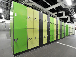 Marathon Laminate Lockers Wet