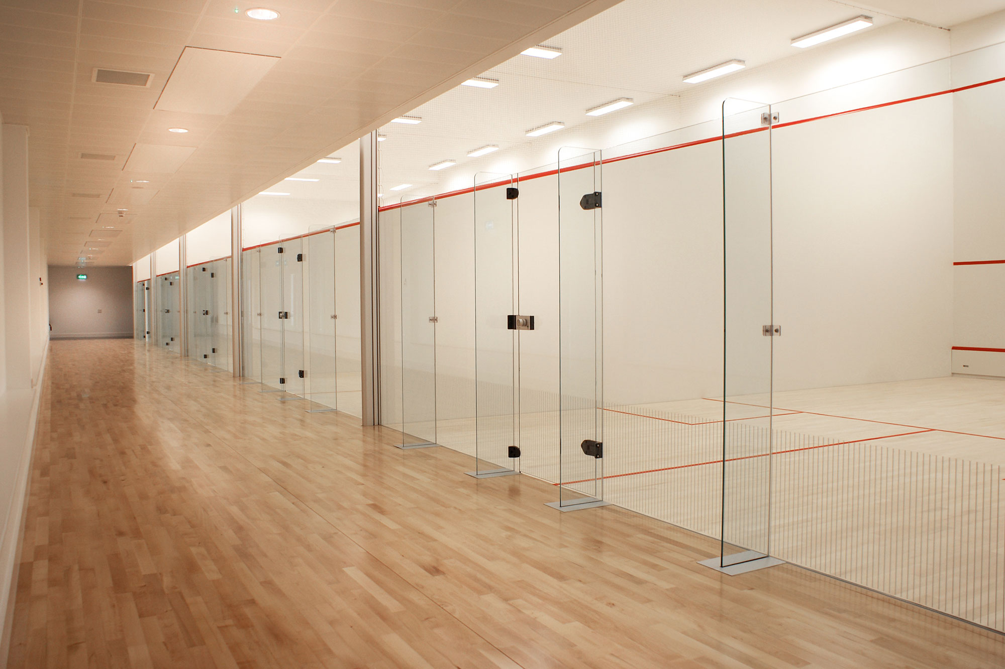 Squash Court Glasswalls